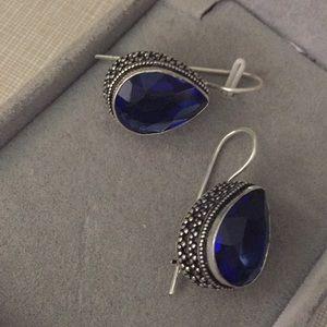 New Gorgeous purple quartz earrings